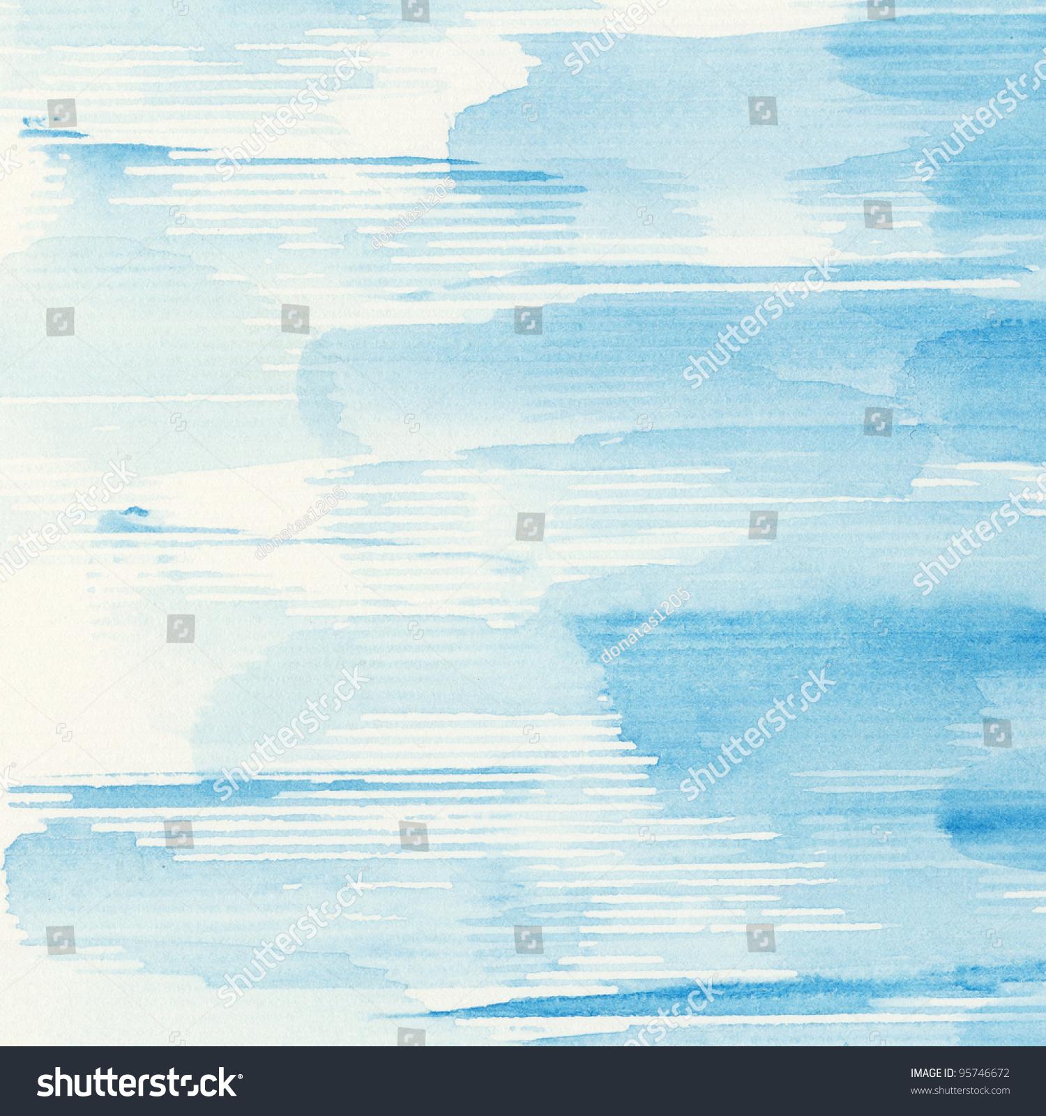 抽象的水彩手绘艺术背景